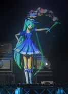 Magical Mirai Miku on stage
