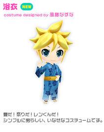Costume yukata len