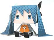 Miku odds and ends papercraft