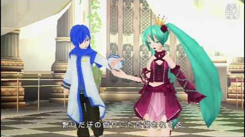 Hatsune miku Project DIVA 2nd HD Cantarella(Kaito & Miku) PSP