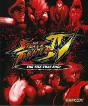 Street Fighter IV - The Ties That Bind DVD Cover