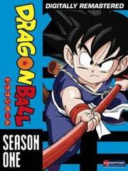 Dragon Ball DVD Cover