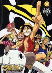 One Piece Collection 8 DVD Cover
