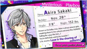 Akira Sakaki - Profile
