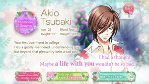 Akio Tsubaki - Profile