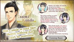 Isami Kondo - Profile