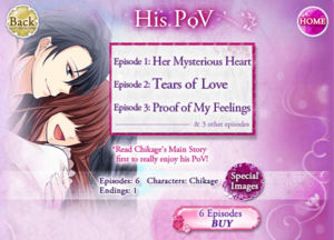 His POV - Main Story - Chikage - Profile