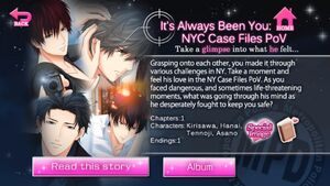 It's Always Been You NYC Case Files PoV
