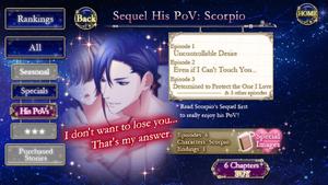 Sequel His PoV - Scorpio