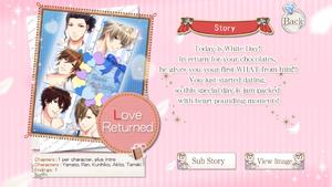 Love Returned info