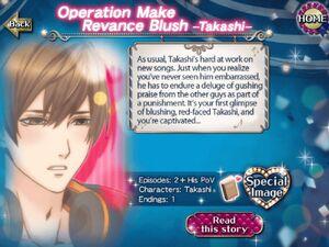 Operation Make Revance Blush - Takashi