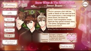 Snow White and the Seven Beasts -Sweet Beasts- info