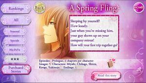 A Spring Fling infobox