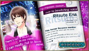 Ritsuto Ena - Profile