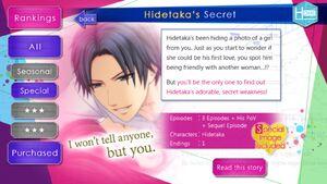 Hidetaka's Secret infobox