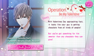 Operation Be My Valentine - Profile