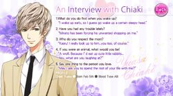 An Interview with Chiaki