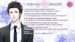 An Interview with Akiyoshi