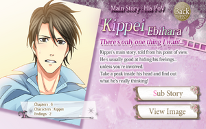 Main Story- His PoV - Kippei info