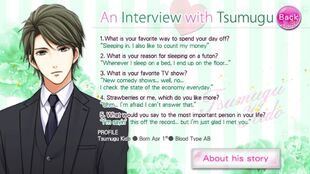 An Interview with Tsumugu