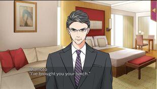 Butler Until Midnight Iwamoto
