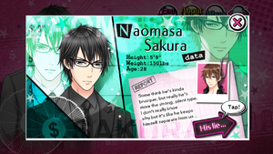 Naomasa Sakura profile