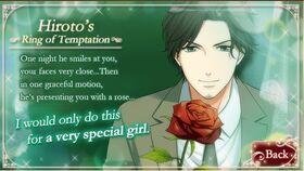 Hiroto Chitose character description (2)