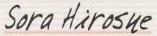 Sora Hirosue signature (1)