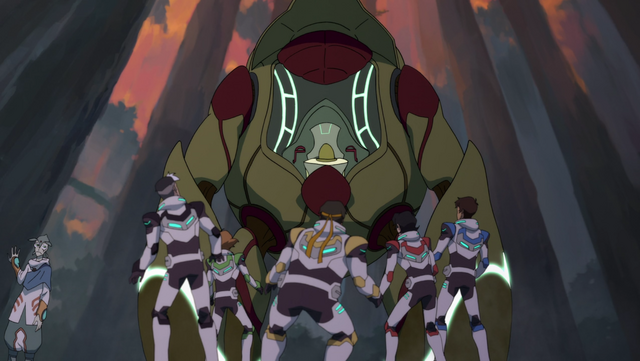 File:S2E04.167. Wooden mech suit lands in front of Paladins.png