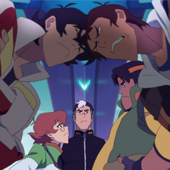 He would butt heads but Pidge is just so <i>tiny</i>...