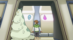 S2E07.143. Pidge trying to discern alien bathroom symbols