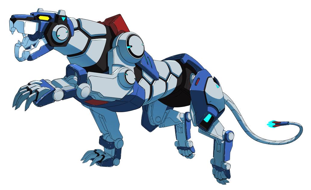 Voltron Lions Colors Blue Lion (Lege...
