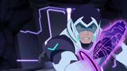 S2E08.239. Shiro activating his Galra arm