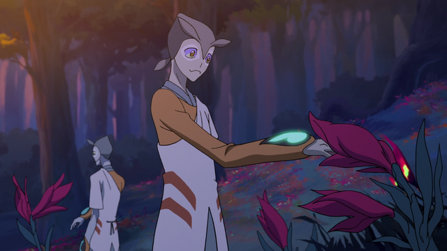 File:S2E04.161. Olkari reaching out to armory flower.png