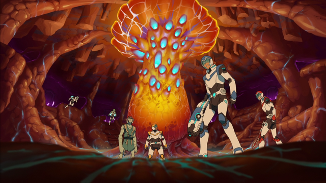 File:151. Team Voltron and Shay in the core of the Balmera.png