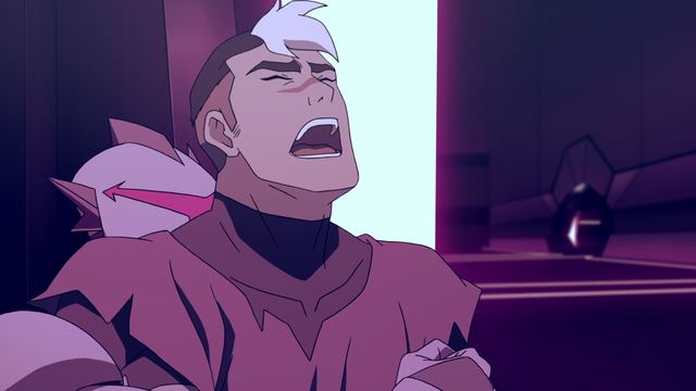File:S2E03.41. Galra drone puts Shiro in a waist lock.png