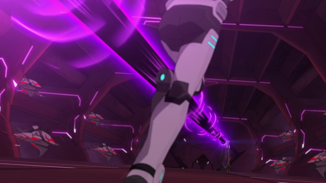 File:233. Haggar trying to hit Shiro with energy blasts.png