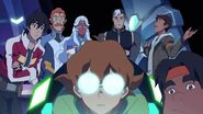 Team Voltron in Castle Ship
