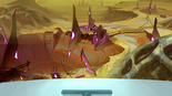 116. First view of Galra mines on the Balmera