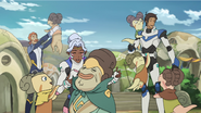34. Coran Allura Lance with their Arusian fans