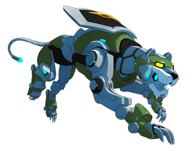 File:Official - Green Lion prowling pose.png