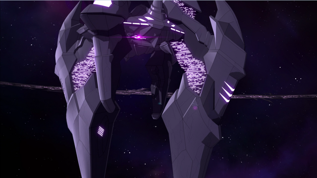 File:166. Zarkon's ship with Black Lion purple speck crashing it.png