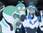 Pidge, Lance and Slav
