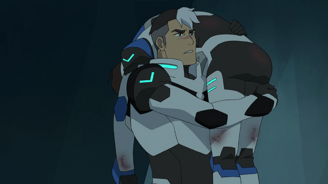 File:88. Shiro carrying Lance - oh crap.png