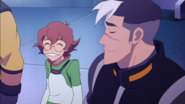 156. Pidge and Shiro sharing grin