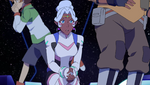 S2E05.60a. Pidge pulling a Hunk in the bg LOL 2