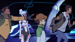 S2E07.30. Lance and Hunk fighting over shotgun compiled