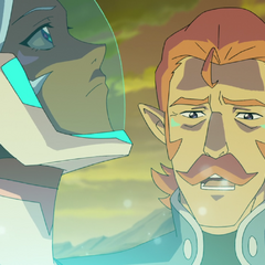 I must go - Allura don't - You can't stop me.
