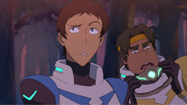 File:S2E04.175. Lance do what now and no Hunk do not lick that compiled.png