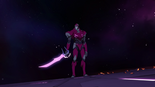 187. Zarkon manifests sword